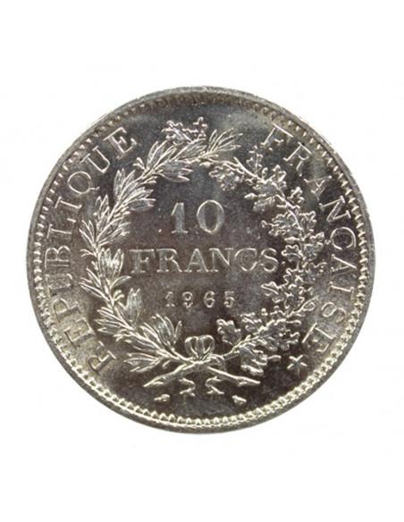 Achat pièce argent 10 Francs Hercule - achat d'or et d'argent sur or-investissement.fr
