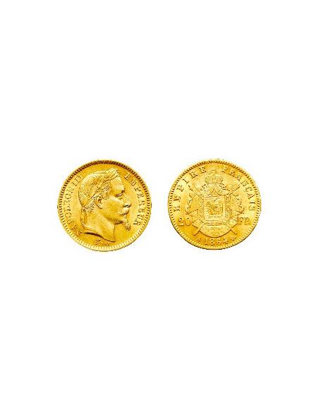 Achat Pièce 20 Francs Napoléon or, or-investissement.fr