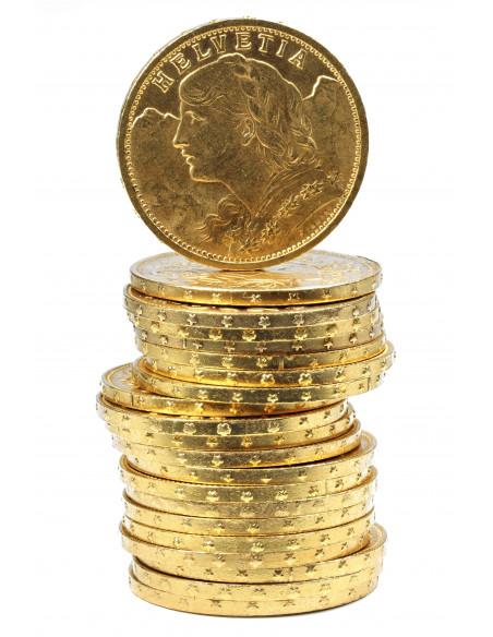 Achat Pièce 20 Francs Suisse Or, Or-investissement.fr