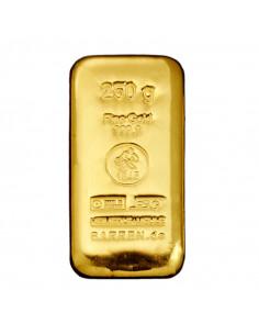 Lingot or 250 grammes, acheter un lingot Or 250 grammes en ligne sur or-investissement.fr