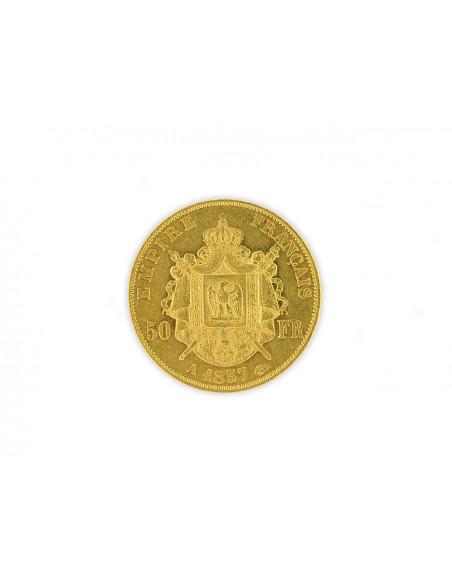 Pièce Or 50 Francs Napoléon III