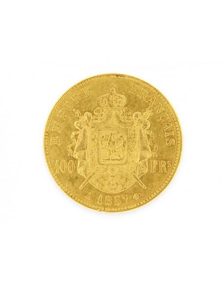 Pièce Or 100 Francs Napoléon III